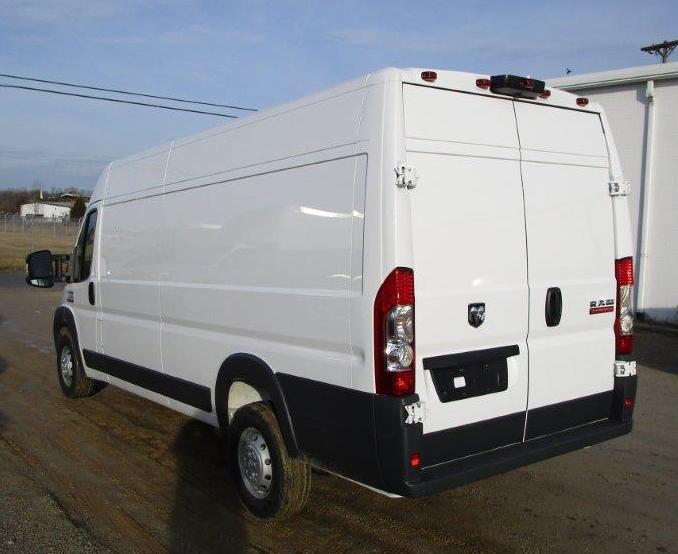 Dodge Ram Promaster 3500 Cargo Van High Roof Extended Length Fedex Trucks For Sale